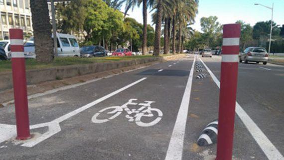 carril bici les corts
