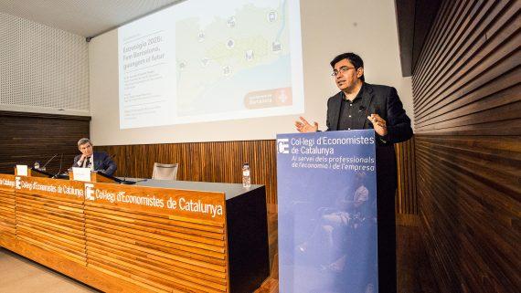 Gerardo Pisarello, Estratègia 2025, Col·legi de'Economistes de Catalunya