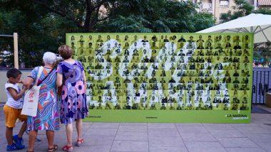 """Mural """"Som la Marina"""""""