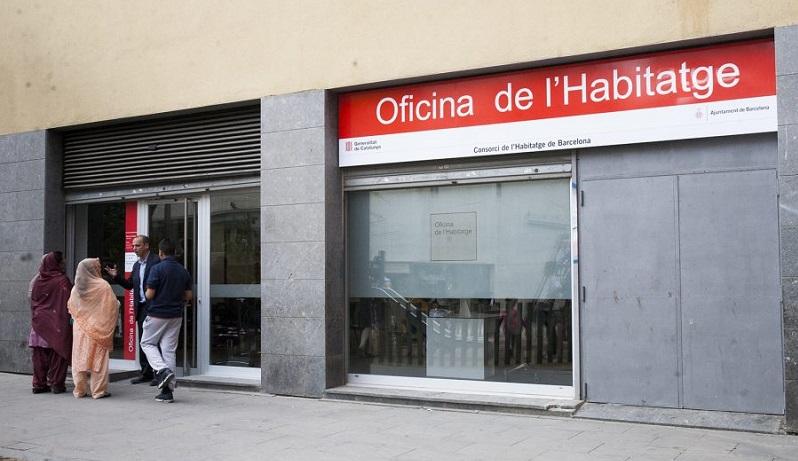 Es municipalitza el servei d 39 atenci a les oficines de l for Oficina habitatge sant marti