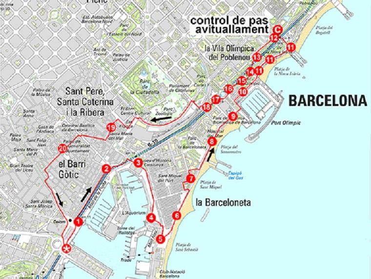 caminatas por barcelona