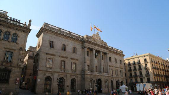 Fachada Ayuntamiento Barcelona