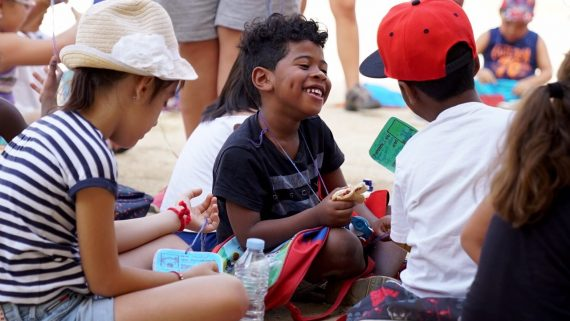 baobab, pla de barris, infants, nens i nenes, campaments, estiu, lleure educatiu, esplai,
