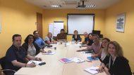 Signatura conveni IMSS i Barcelona Activa pe Programa Làbora