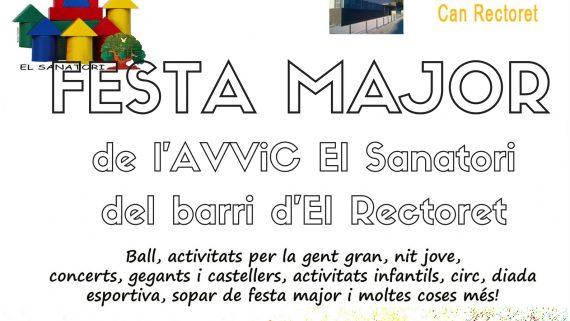 Festa Major de l'Associació de Veïns i Cultural El Sanatori