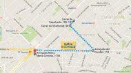 Mapa cursa Mercè adaptada