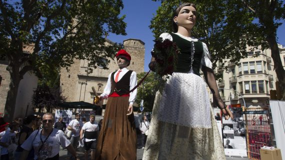 Gegants nous de Sarrià