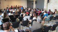 Vista general de la sala durant la jornada 'Intervenció amb famílies'