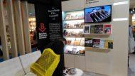 El racó de les publicacions de l'Ajuntament de Barcelona i de promoció de la ciutat de la literatura