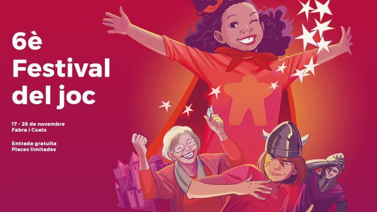 Cartel DAU 6 Festival del joc Barcelona 2017