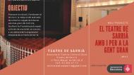 Gent Gran Teatre de Sarrià