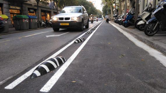 Carril bici carrer de París