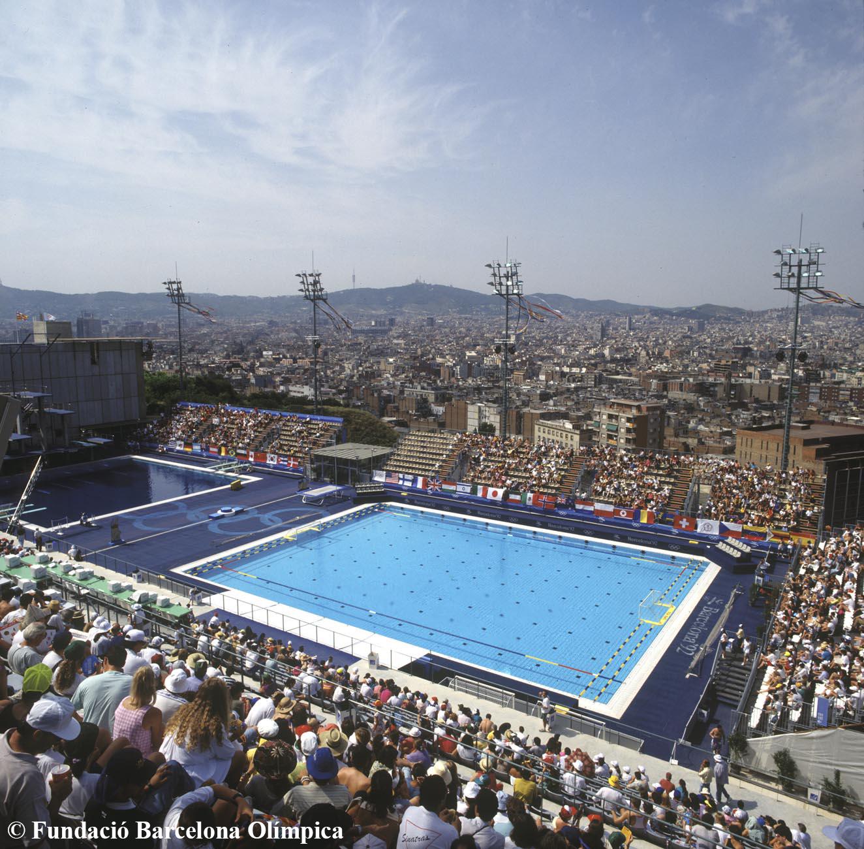 La piscina municipal de montju c 25 a os despu s 25 aniversario de los juegos ol mpicos - Piscina en barcelona ...