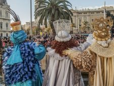 The Three Kings of the Orient arrive in Barcelona