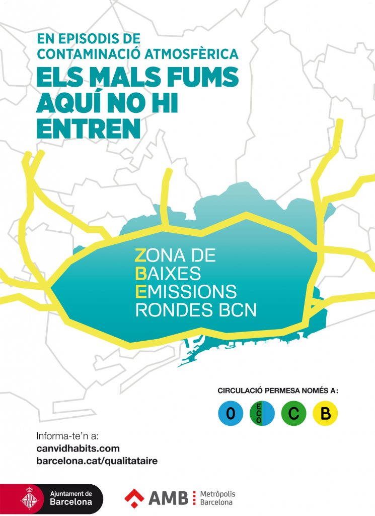 Information On The Barcelona Low Emission Zone Air Quality Ajuntament De Barcelona