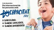 Cartel del día internacional de personas con discpacacidad