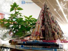 Taller de descoberta: Guarnim el Nadal amb paper reciclat.