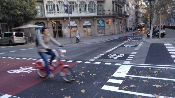 carril bici c Calabria - Gran Via