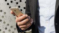 Usuari de smartphone.