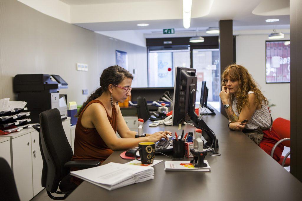 un tall de llum afectar el servei a l oficina de l