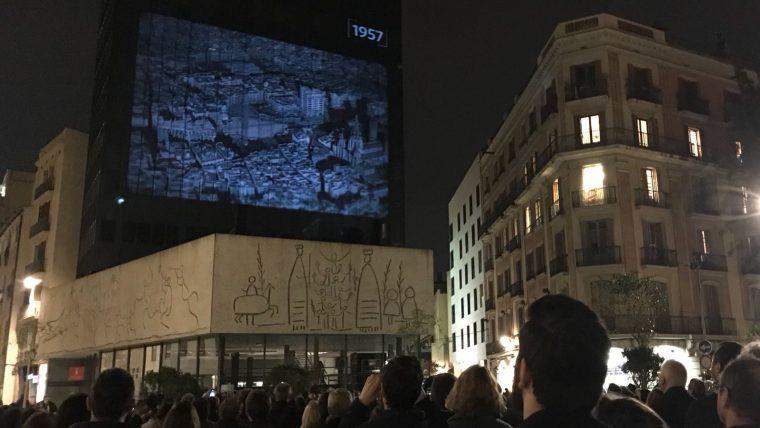 El Colegio de Arquitectos de Cataluña estrena fachada   Info ...