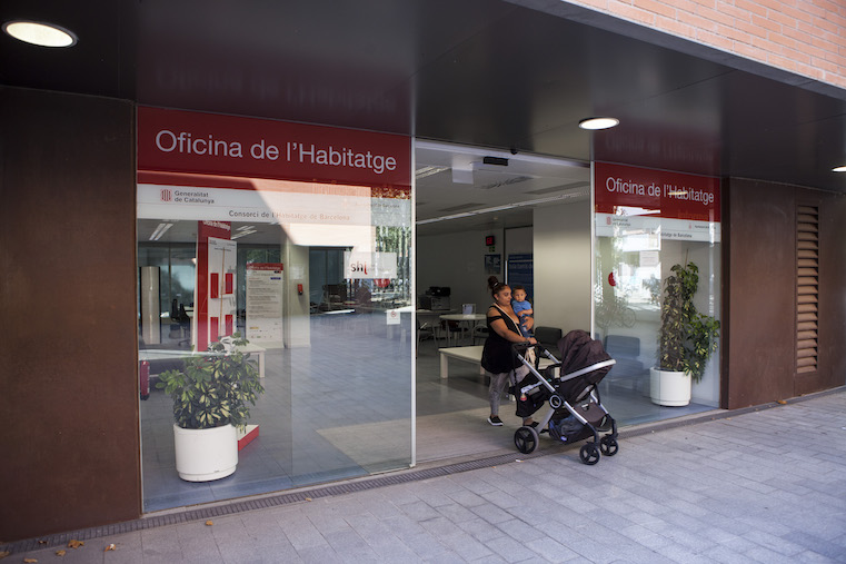 La oficina de la vivienda de sant mart modificar su for Horario apertura oficinas la caixa