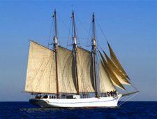 Itinerario de mar a bordo del pailebote Santa Eulàlia