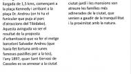 Descripció Av. tibidabo