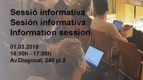 Sessió Informativa a l'adequació de LPACAP- 1 de Març 2018. 16:00h