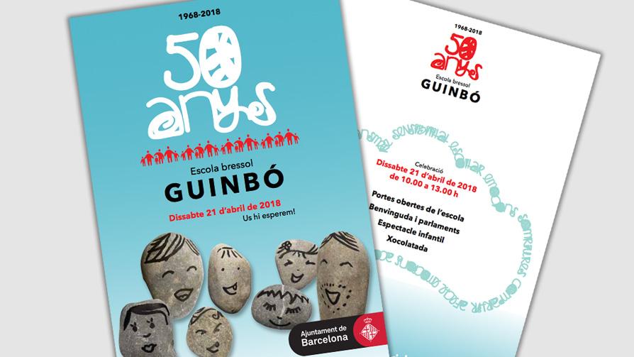 El jard n de infancia municipal guinb celebra su 50 for Amaru en la puerta de un jardin