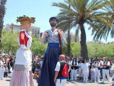 Spring festivities in Barceloneta