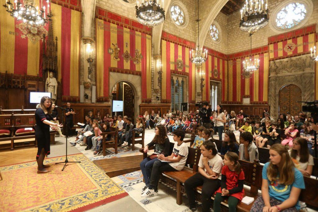 Escolars participants al projecte xaire entreguen dades de for Escoles de disseny d interiors a barcelona
