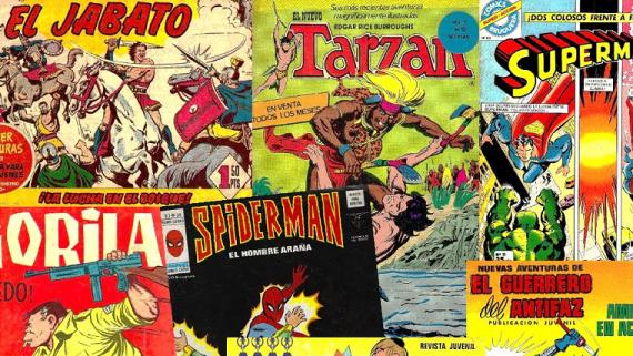 Cartell de l'Exposició de còmics Clàssics