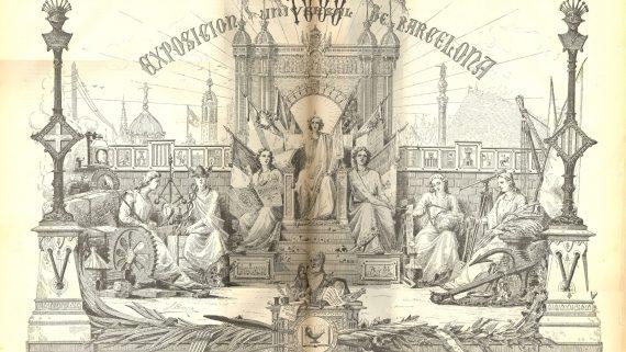 Ilustración de la Exposición Universal de Barcelona 1888. AMCB