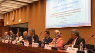 Taula de presentació al Fòrum Internacional de col·laboració públic-privada de les Nacions Unides, amb la presència de David Martínez.