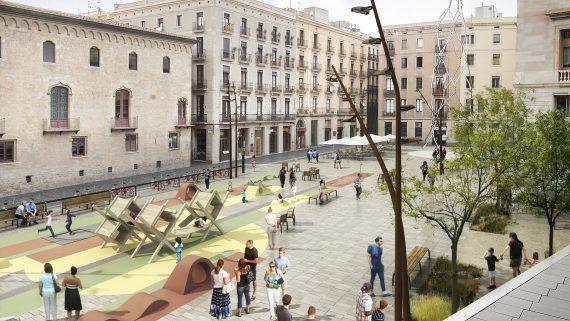 remodelació plaça Sant Mique