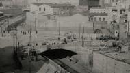 Sants viatgers 1933. Enric Ventura. Arxiu Municipal de Sants-Montjuïc.