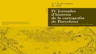 Portada tríptic IV Jornades historia cartografia