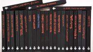 Col·lecció de 'Quaderns de viatge', publicats per l'Ajuntament de Barcelona. Foto: Núria Granollers.