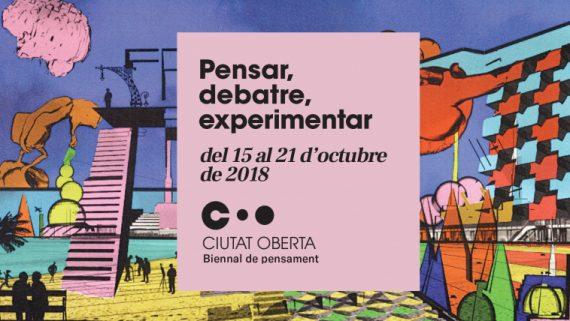 Imatge de la Biennal de Pensament Ciutat Oberta