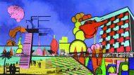 Imatge oficial de la primera Biennal de Pensament Ciutat Oberta.