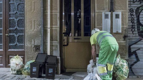 recollida selectiva porta a porta Sarrià