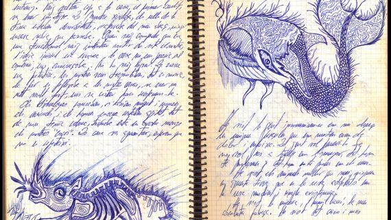 Imatge de les pàgines interiors del llibre ' Hem d'anar a l'ïndia (records d'un viatge freak)' de Joan Vinuesa