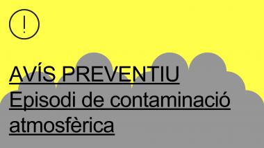 avís preventiu contaminacio