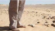 Peus en el deset Sahrauí Ciutat Refugi