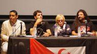 Alguer Miquel, Rosa Maria Sardà i Mah Iahdid presentant Yalah