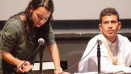Nora Mulay i Hamadi Abdalah presentant Yalah