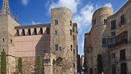 Imatges del Barri Gòtic de Barcelona.
