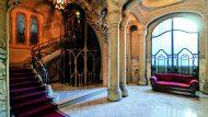 Sostre del vestíbul de la Casa Sayrach. Foto: Consol Bancells.