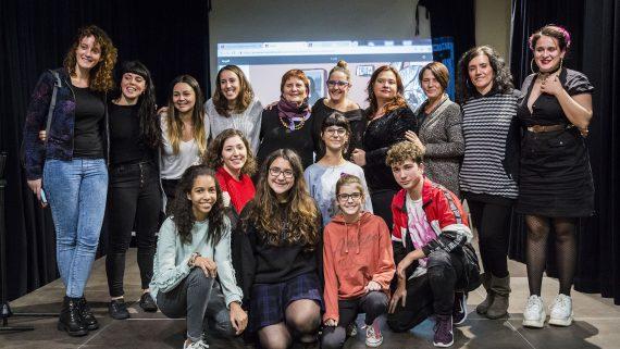 IV Premi Jove de Còmic Sant Martí, Casal de Joves del Poblenou, Can Ricart 1.12.2018 Foto Pere Virgili